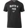 fox racing arch premium t-shirt tee black vintage