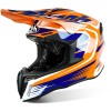 airoh twist mix orange motocross bmx enduro helmet crosshelm casque helm
