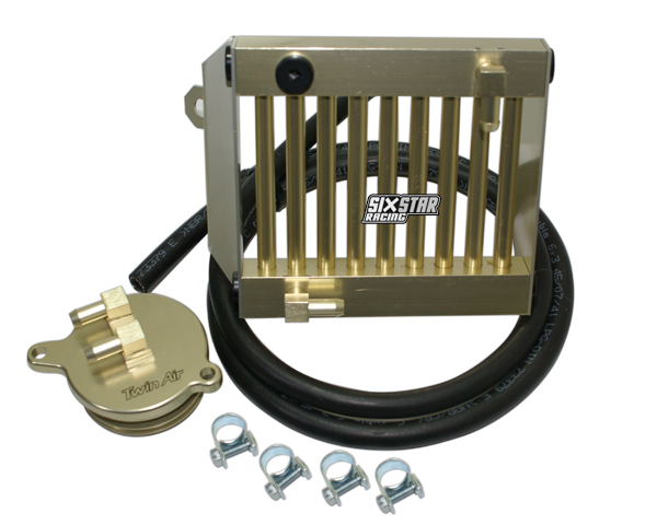 Twin Air Engine Oil Cooler : Chevrolet oil filter relocation kit directions get free